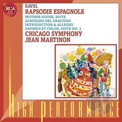 Cso / Martinon / Ravel - Jean Martinon Conducts Ravel CD Cover Art