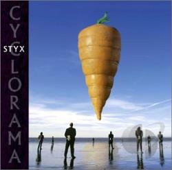 Styx - Cyclorama CD Cover Art