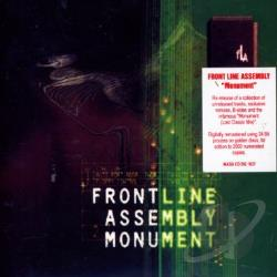 Front Line Assembly - Monument CD Cover Art