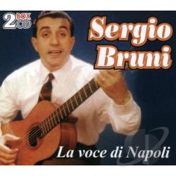 Bruni, Sergio - La Voce Di Napoli CD Cover Art