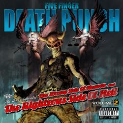 Five Finger Death Punch - Wrong Side of Heaven and the Righteous Side of Hell, Vol. 2 CD Cover Art