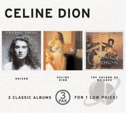 Dion, Celine - Unison/Celine Dion/The Colour Of My Love CD Cover Art