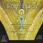 Goodwin: Minnesota Orchestra - John Tavener: Ikon of Eros CD Cover Art