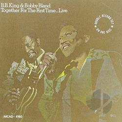 Bland, Bobby Blue / King, B.B. - Together for the First Time...Live CD Cover Art