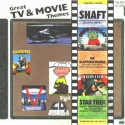 Great TV & Movie Themes CD Cover Art