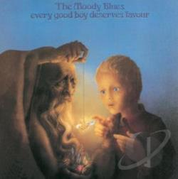 Moody Blues - Every Good Boy Deserves Favour CD Cover Art