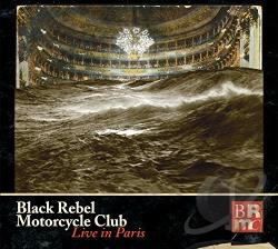 Black Rebel Motorcycle Club - Black Rebel Motorcycle Club: Live CD Cover Art