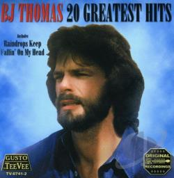 Thomas, B.J. - 20 Greatest Hits CD Cover Art