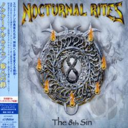 Nocturnal Rites - 8th Sin CD Cover Art