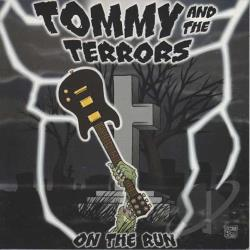 Tommy & The Terrors - On The Run LP Cover Art