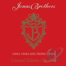 Jonas Brothers - Lines Vines & Trying Times CD Cover Art