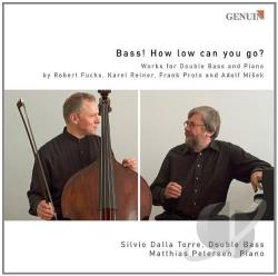 Dalla-Torre / Fuchs / Petersen / Proto / Reiner - Bass: How Low Can You Go CD Cover Art