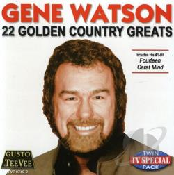 Watson, Gene - 22 Golden Country Greats CD Cover Art