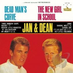 Jan & Dean - Dead Man's Curve CD Cover Art