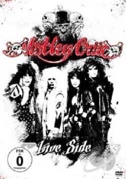 Motley Crue - Live Side CD Cover Art