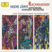 Gothenberg Symphony Orchestra / Jarvi - Rach: Aleko/Miserly CD Cover Art