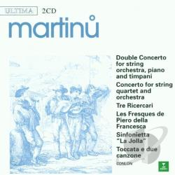 Ultima Series - Martinu: Double Concerto, Ricercari, etc / Conlon, et al CD Cover Art