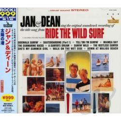 Jan & Dean - Ride the Wild Surf CD Cover Art