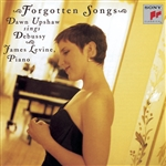 Levine / Upshaw - Forgotten Songs: Dawn Upshaw Sings Debussy CD Cover Art