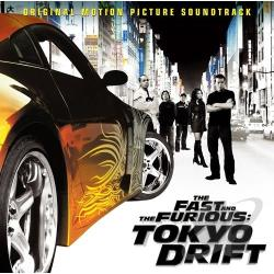 Fast and the Furious: Tokyo Drift CD Cover Art