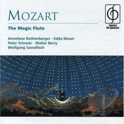 Berry / Moser / Mozart / Rothenberger / Sawallisch - Mozart: The Magic Flute CD Cover Art