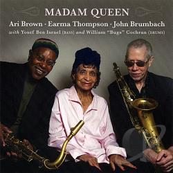 Earma Thompson - Madam Queen CD Cover Art