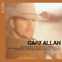 Allan, Gary - Icon CD Cover Art