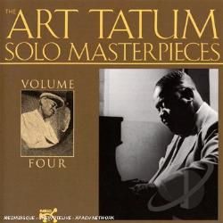 Tatum, Art - Art Tatum Solo Masterpieces, Vol. 4 CD Cover Art