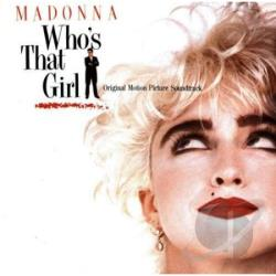 Madonna - Who's That Girl CD Cover Art
