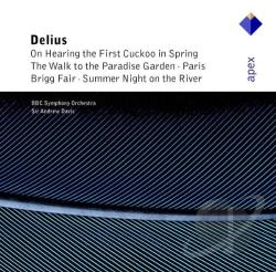 BBC / Davis / Delius - Frederick Delius: Paris; The Walk to the Paradise Garden; In a Summer Garden; etc. CD Cover Art