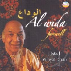 Khan, Vilayat - Al Wida Farewell CD Cover Art