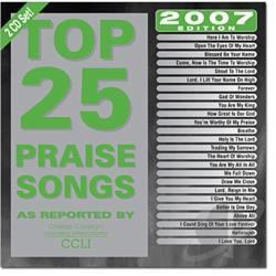 Top 25 Praise & Worship Songs 2007 CD Cover Art