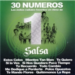 30 Numero 1 Salsa CD Cover Art