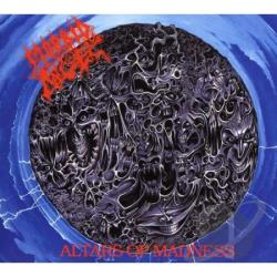 Morbid Angel - Altars Of Madness CD Cover Art