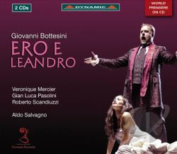 Bottesini / Mercier / Pasolini / Savagno - Giovanni Bottesini: Ero e Leandro CD Cover Art
