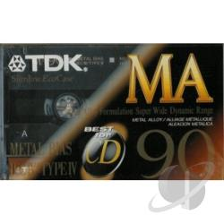 Ma90 - Ma-90 Metal Bias Cassette - Single Cover Art