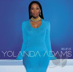 Adams, Yolanda - Believe CD Cover Art