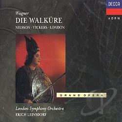 Leinsdorf / London / London Symphony Orchestra / Nilsson / Vickers - Wagner: Die Walk�re / Leinsdorf, Nilsson, Vickers, London CD Cover Art