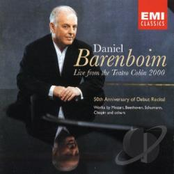 Barenboim, Daniel - Barenboim: Live from the Teatro Colon 2000 CD Cover Art