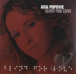 Popovic, Ana - Blind for Love CD Cover Art
