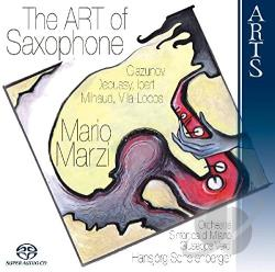 Debussy / Ibert / Marzi / Milhaud - Art of Saxophone CD Cover Art