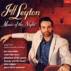Jeff Leyton - Music of the Night CD Cover Art