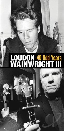 Wainwright III, Loudon - 40 Odd Years CD Cover Art