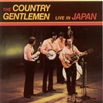Country Gentlemen - Live in Japan CD Cover Art