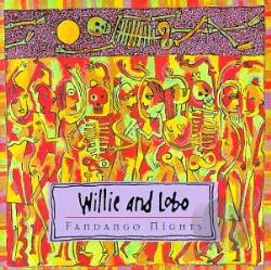 Willie & Lobo - Fandango Nights CD Cover Art
