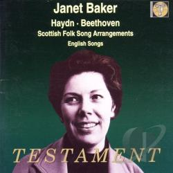 Baker / Beethoven / Haydn / Malcom / Menuhin - Haydn, Beethoven: Scottish Folk Song Arrangements; English Songs CD Cover Art