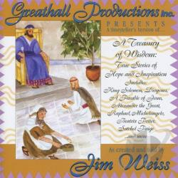 Weiss, Jim - Treasury of Wisdom, A CD Cover Art