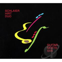 Hirt, Schlaier Duo - Guitar Meets Sax CD Cover Art