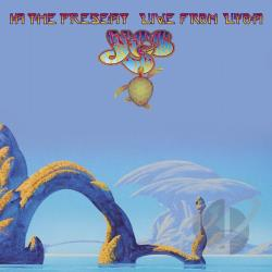 Yes - In the Present: Live from Lyon CD Cover Art