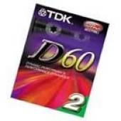 / Tdk - D60 2pk Normal Bias Cover Art